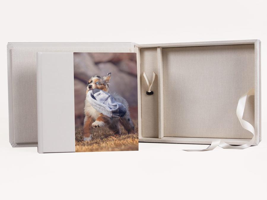 Leather Album & Box